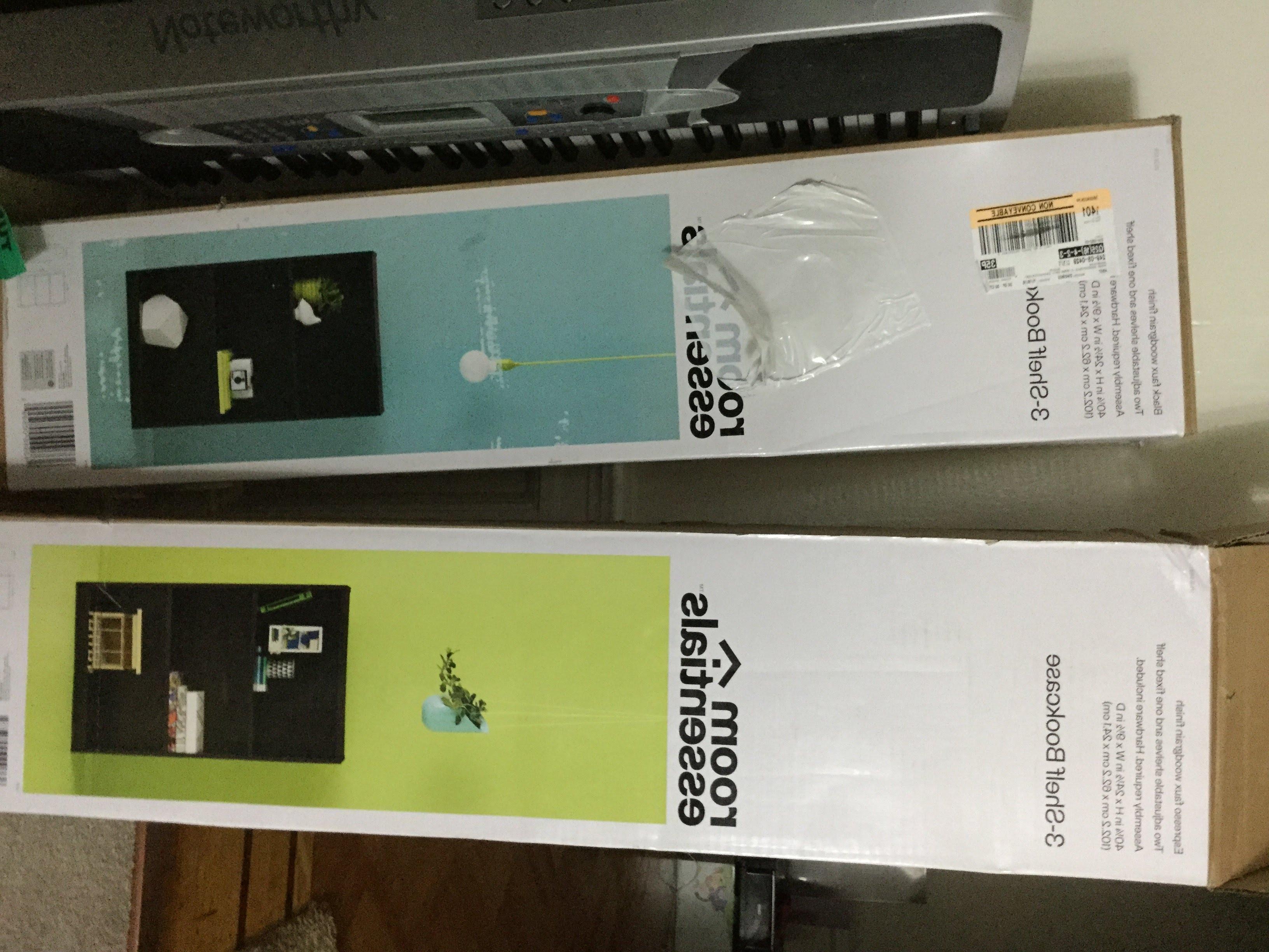 Featured Photo of Room Essentials 3 Shelf Bookcases