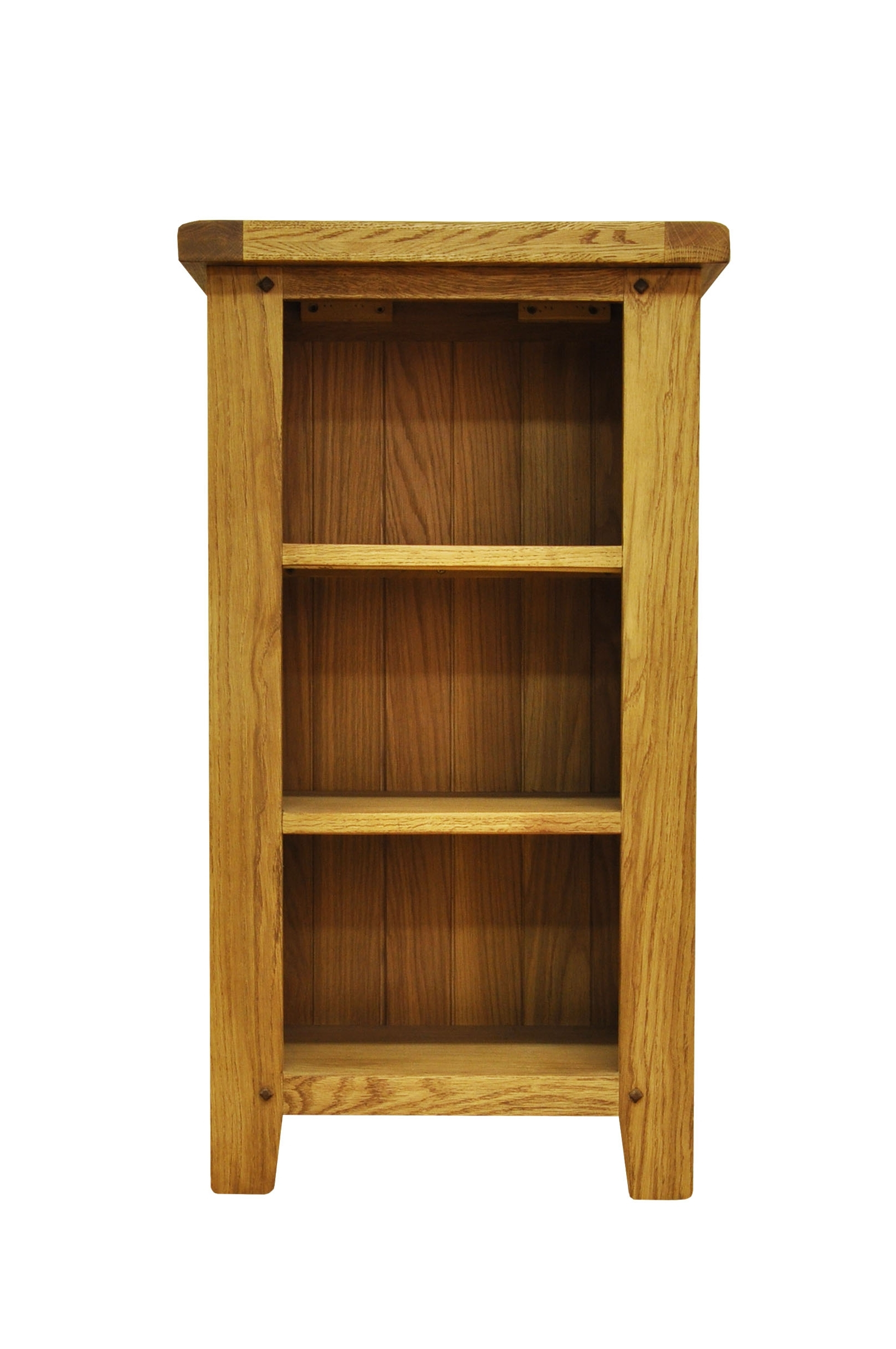 Favorite Small Bookcases Within Bookcases : Stanton Small Narrow Rustic Oak Bookcasestanton Small (View 5 of 15)