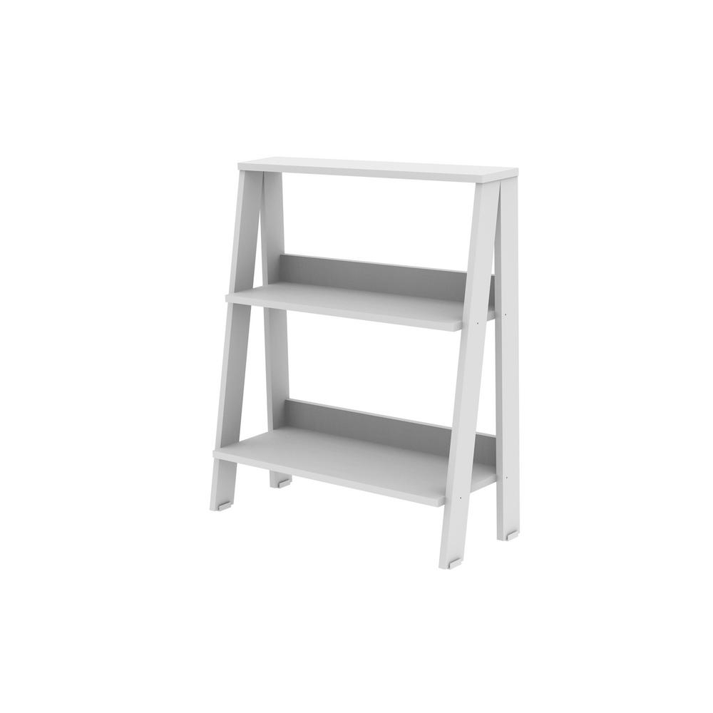 Favorite White Ladder Bookcases For Walker Edison Furniture Company 30 In (View 5 of 15)
