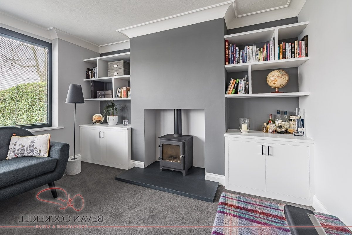 Fitted Book Shelves For 2018 Tom Maxwell Furniture – White, Alcove Fitted Bookshelves (View 6 of 15)