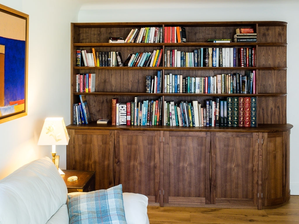 Fitted Book Shelves Intended For Popular Bespoke Bookcases, Fitted Bookshelves & Alcove Units (View 8 of 15)