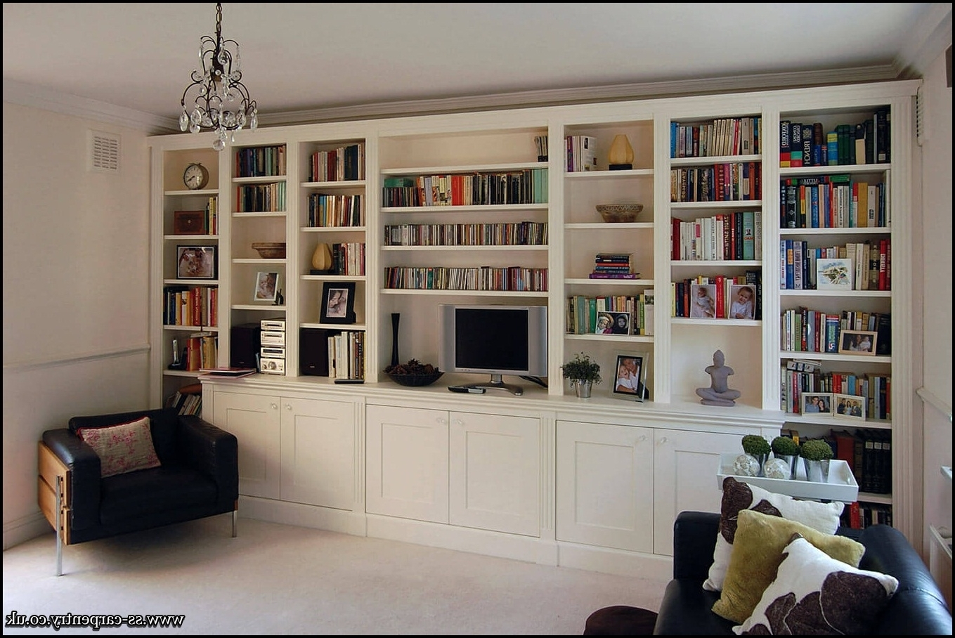 Fitted Bookcases In Ealing Throughout Latest Fitted Bookcases (View 5 of 15)