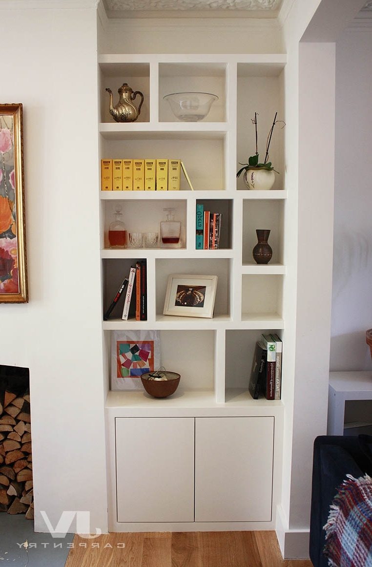 Fitted Bookshelves In Well Known Fitted Furniture For London – Fitted Wardrobes, Alcove Cupboards (View 5 of 15)