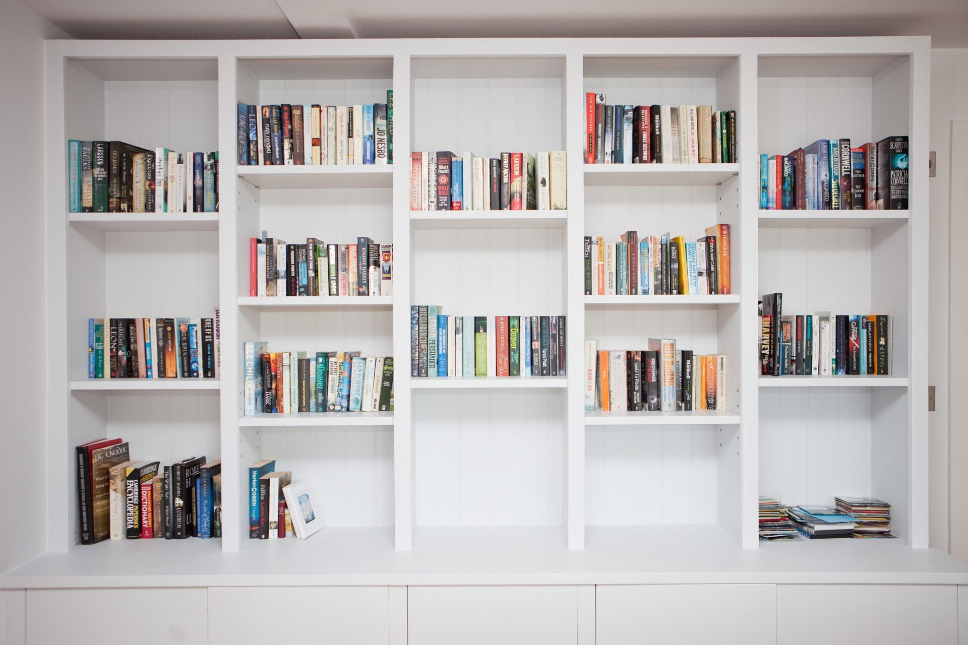 Fitted Bookshelves With Regard To Most Recently Released Awesome Sample For Fitted Bookshelves – Camer Design (View 7 of 15)