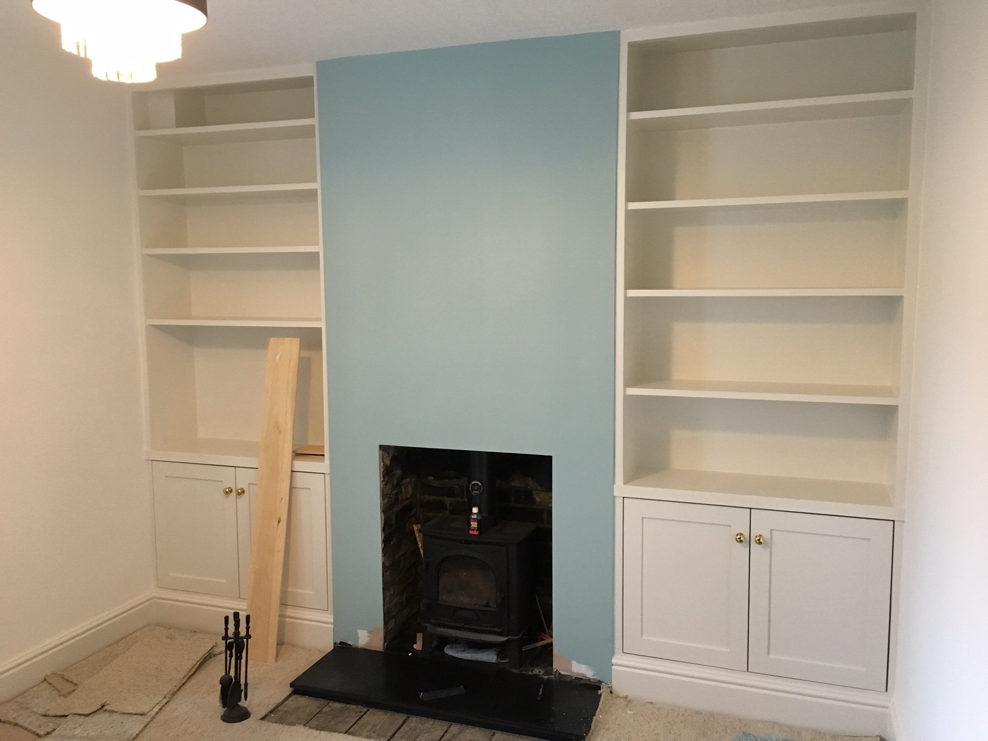 Fitted Cabinets Pertaining To Preferred Fitted Shelving, Cupboards And Flooring – P D Carpentry & Building (View 5 of 15)