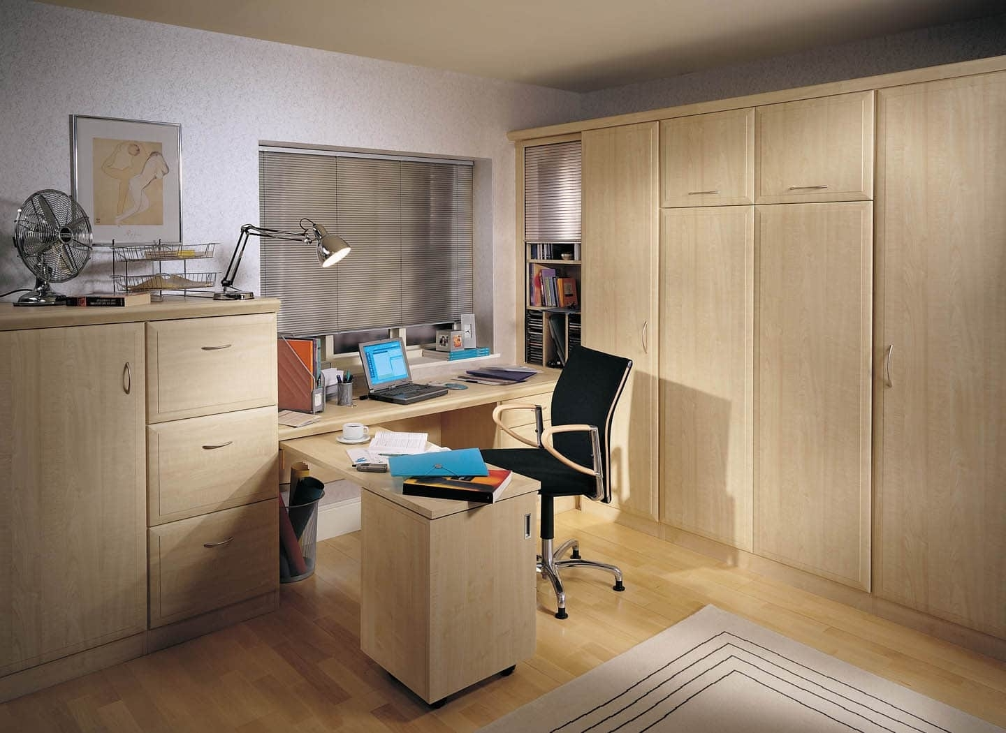 Fitted Home Office Bedroom Combinations (View 8 of 15)