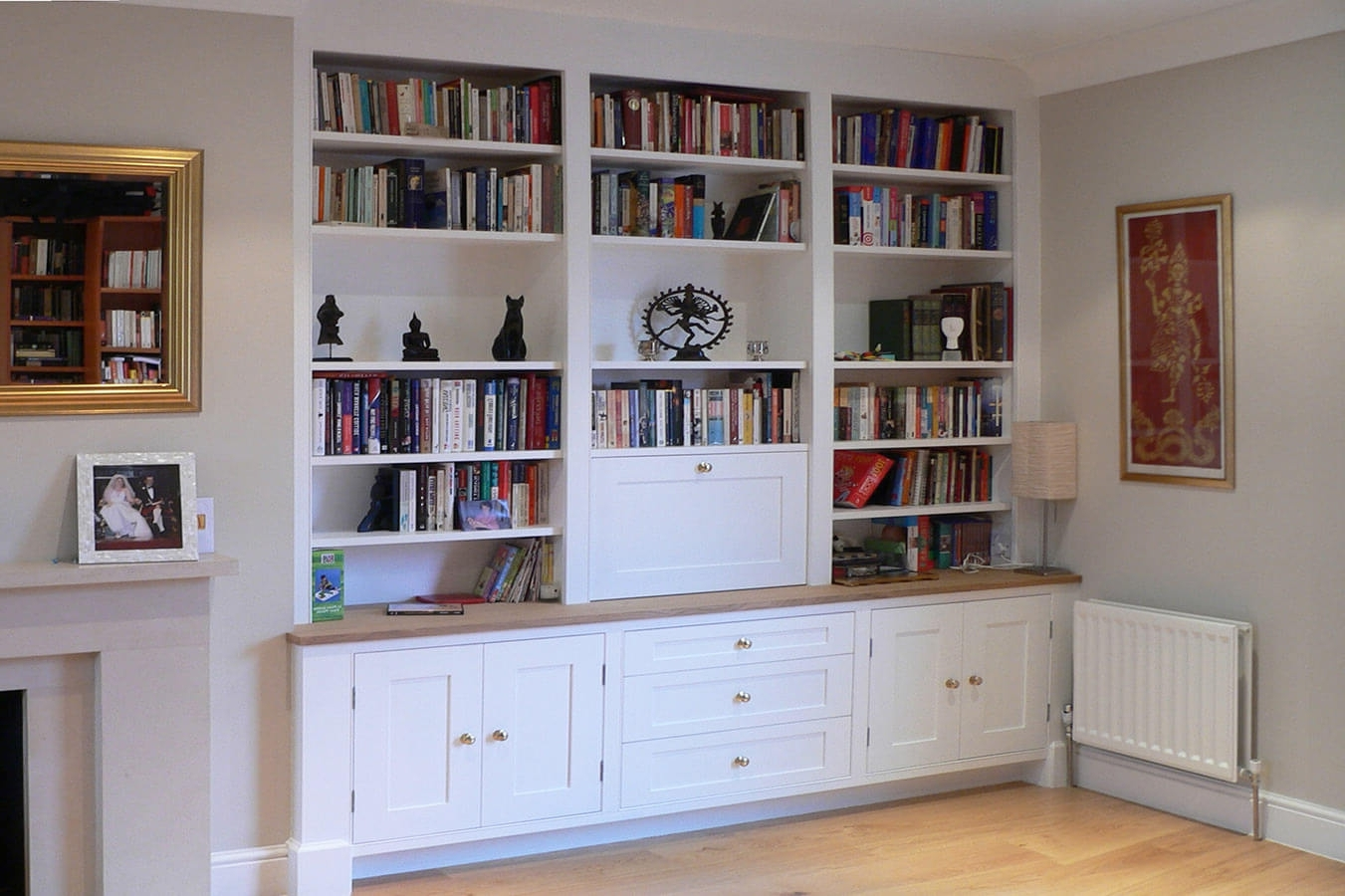 Fitted Shelves With Regard To Most Recently Released Custom Made Living Rooms (View 5 of 15)