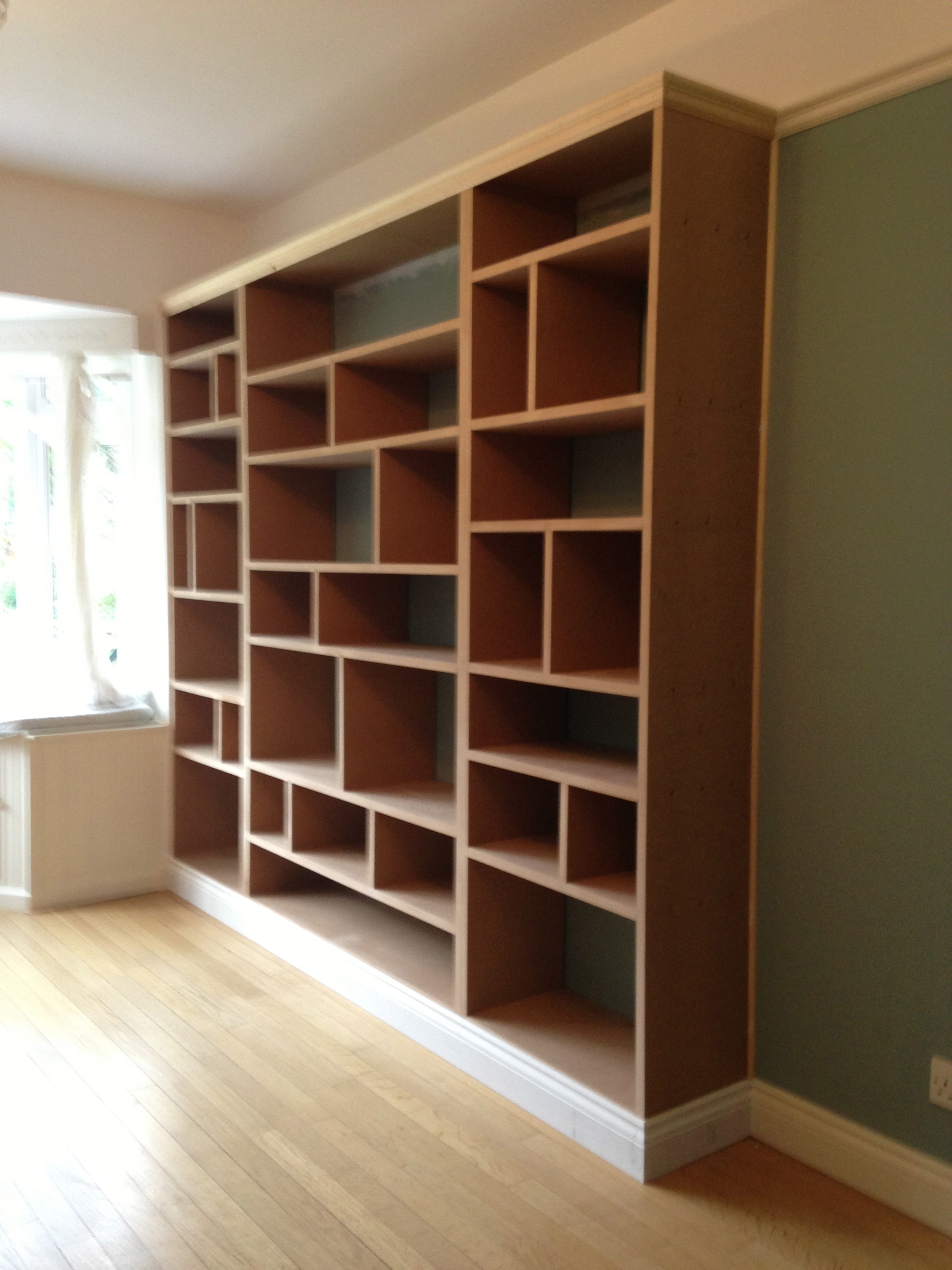 Fitted Shelving Units Regarding Current Fitted Shelving, Cupboards And Flooring – P D Carpentry & Building (View 8 of 15)