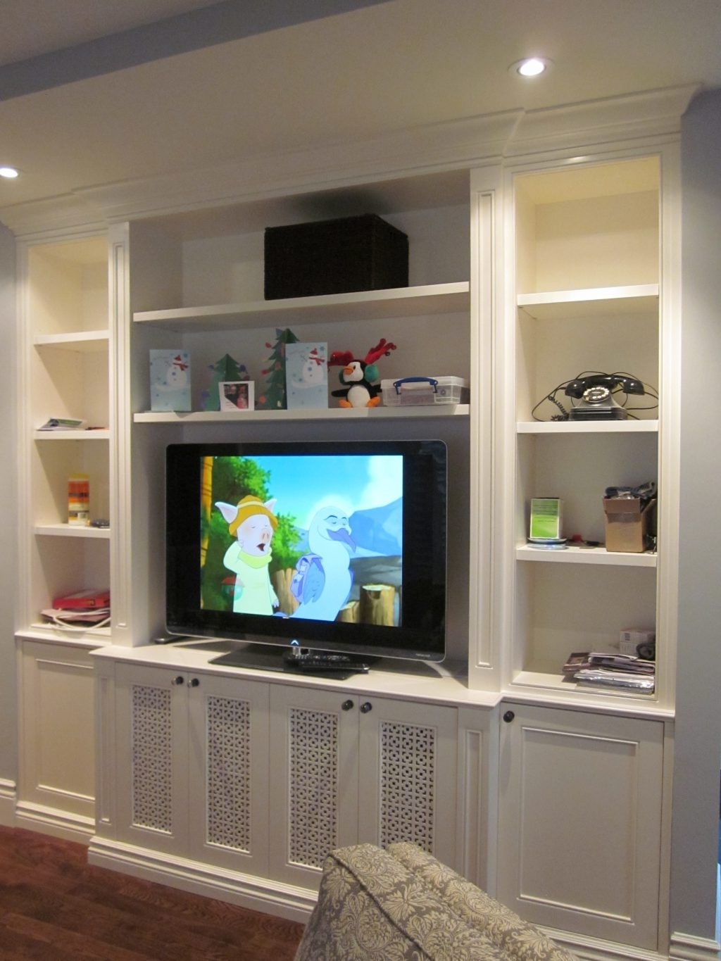 Fitted Wall Units Living Room Throughout Widely Used Living Room : Fitted Wall Units Living Room Individual Picture (View 6 of 15)