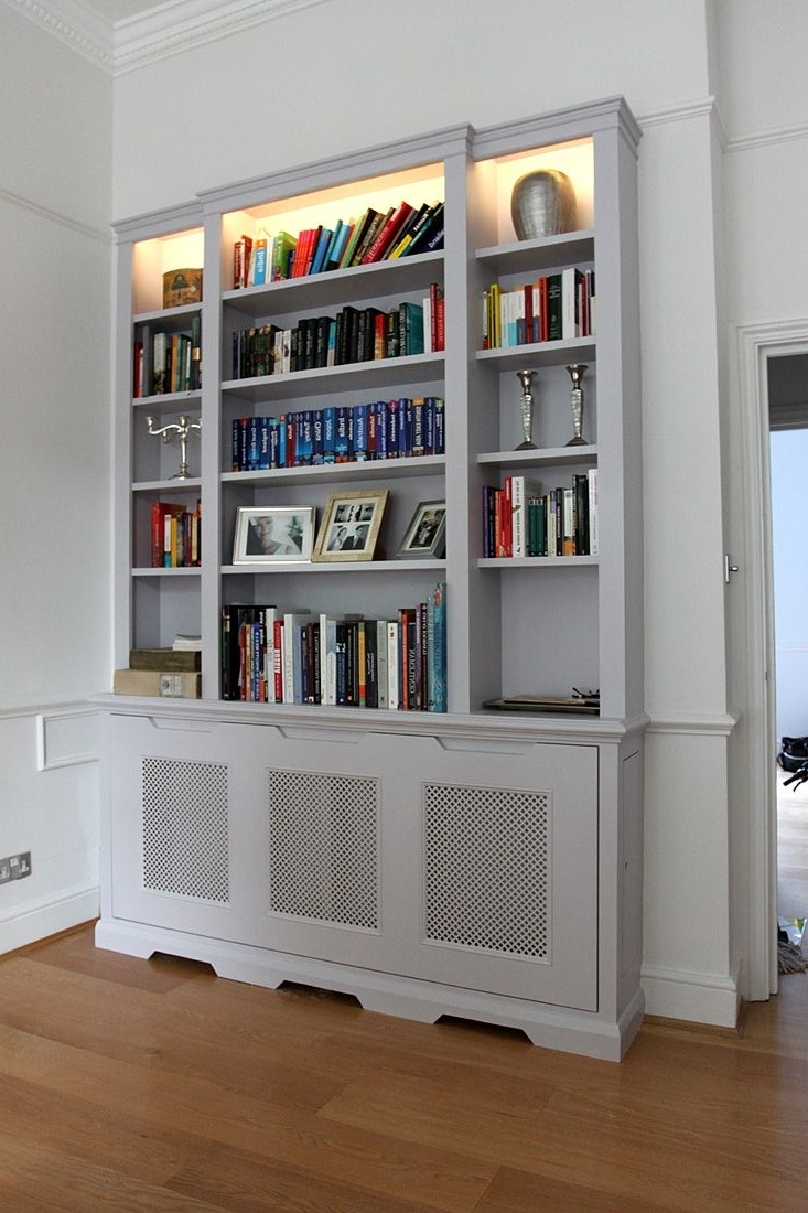 Fitted Wardrobes, Bookcases, Shelving, Floating Shelves, London In Recent Fitted Bookcases (View 8 of 15)