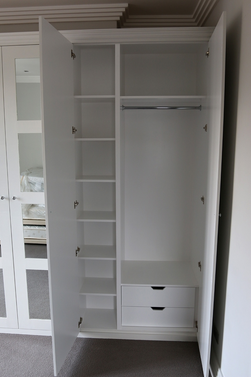 Fitted Wardrobes, Bookcases, Shelving, Floating Shelves, London Regarding Famous Made To Measure Cabinets (View 4 of 15)