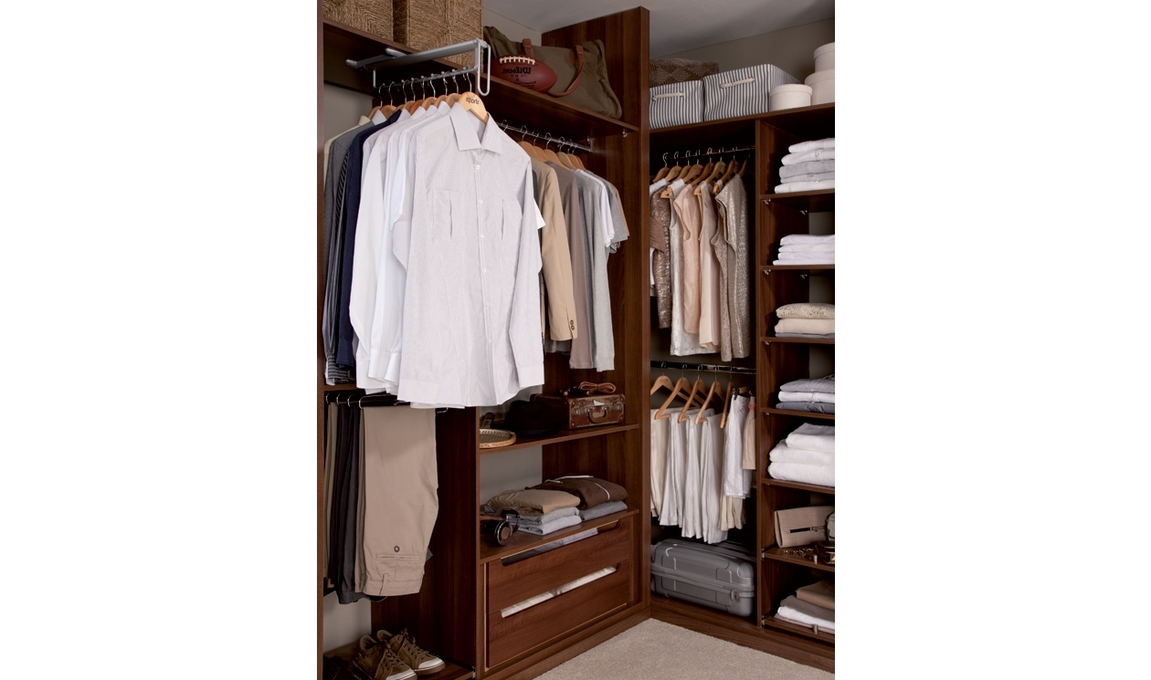 Fitted Wardrobes Provide Additional Storage Like These Single And Throughout Well Known Double Rail Single Wardrobes (View 8 of 15)