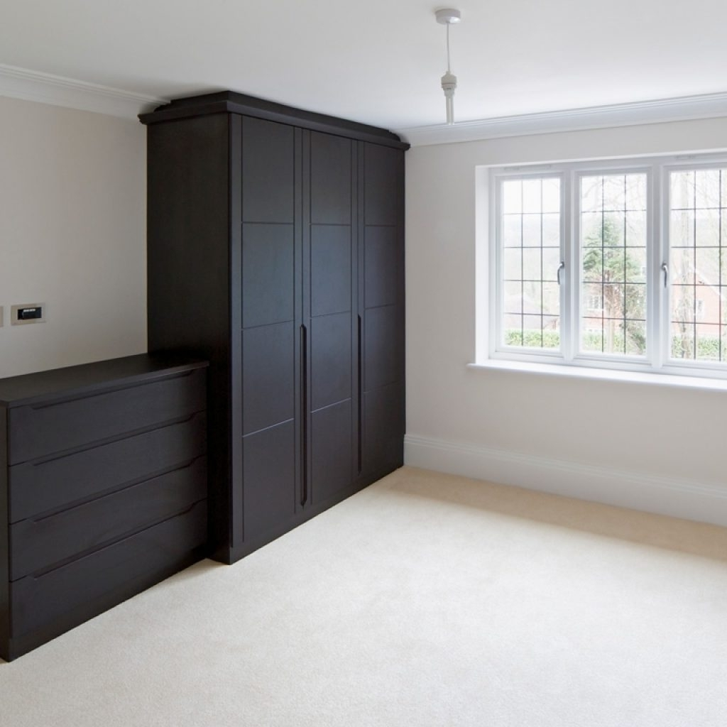 Fitted Wooden Wardrobes Regarding Well Known Elegant Fitted Wooden Wardrobes – Buildsimplehome (View 8 of 15)