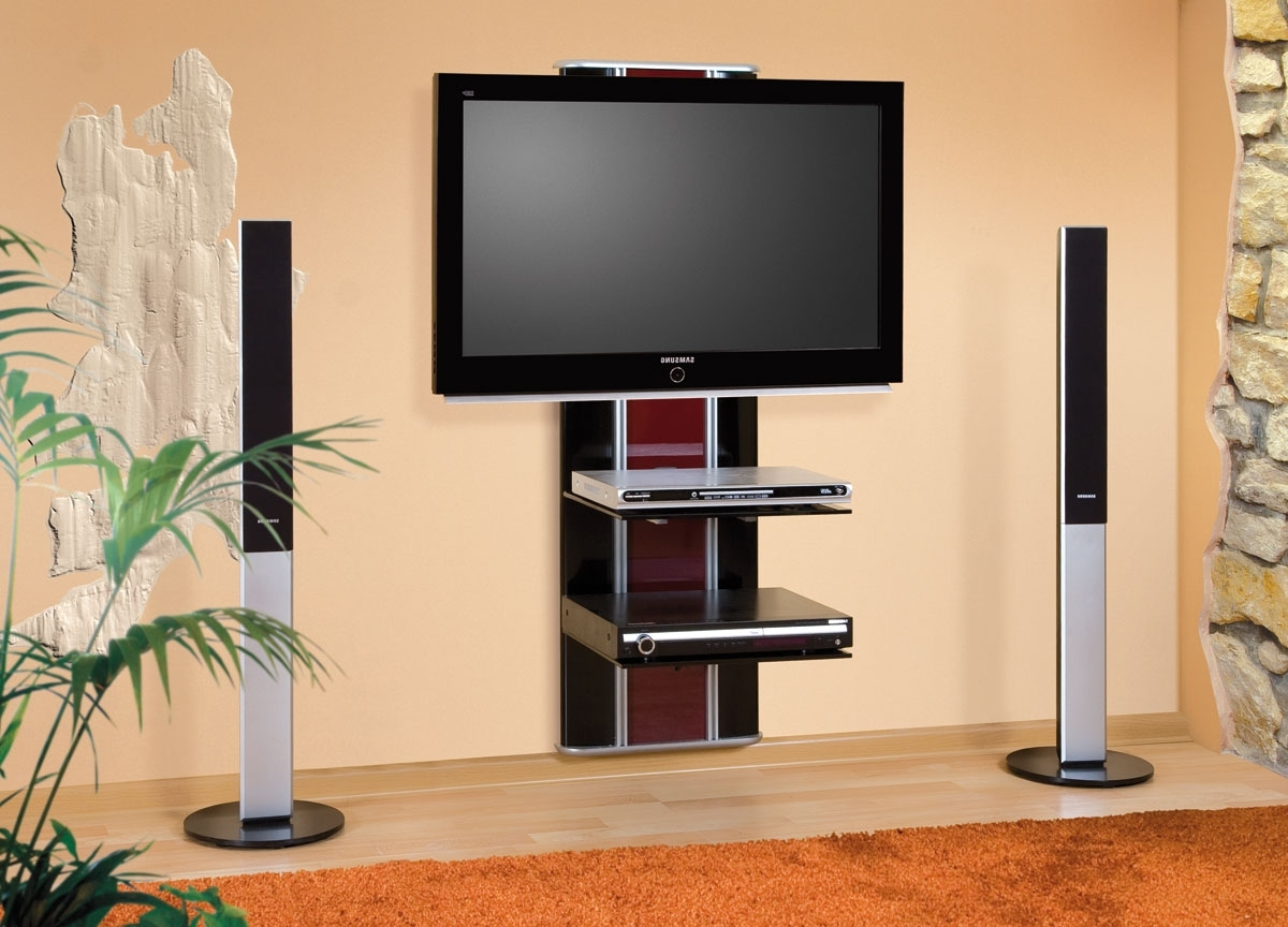Flat Screen Shelving With Well Known Wall Shelves Design: Top Wall Shelves Under Flat Screen Tv Wall (View 7 of 15)