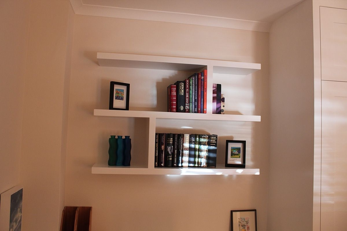 Floating Bookcases In Popular Wandsworth Floating Bookshelves Ideas (View 2 of 15)
