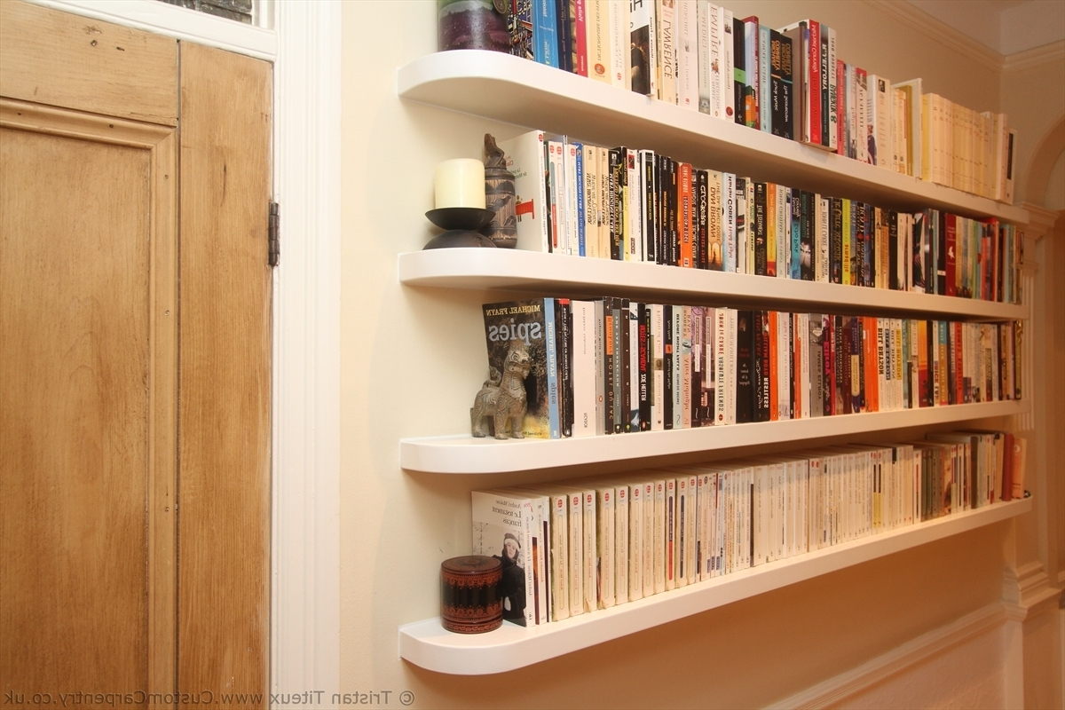Floating Bookcases With 2017 Fitted Floating Shelves – Empatika (View 11 of 15)