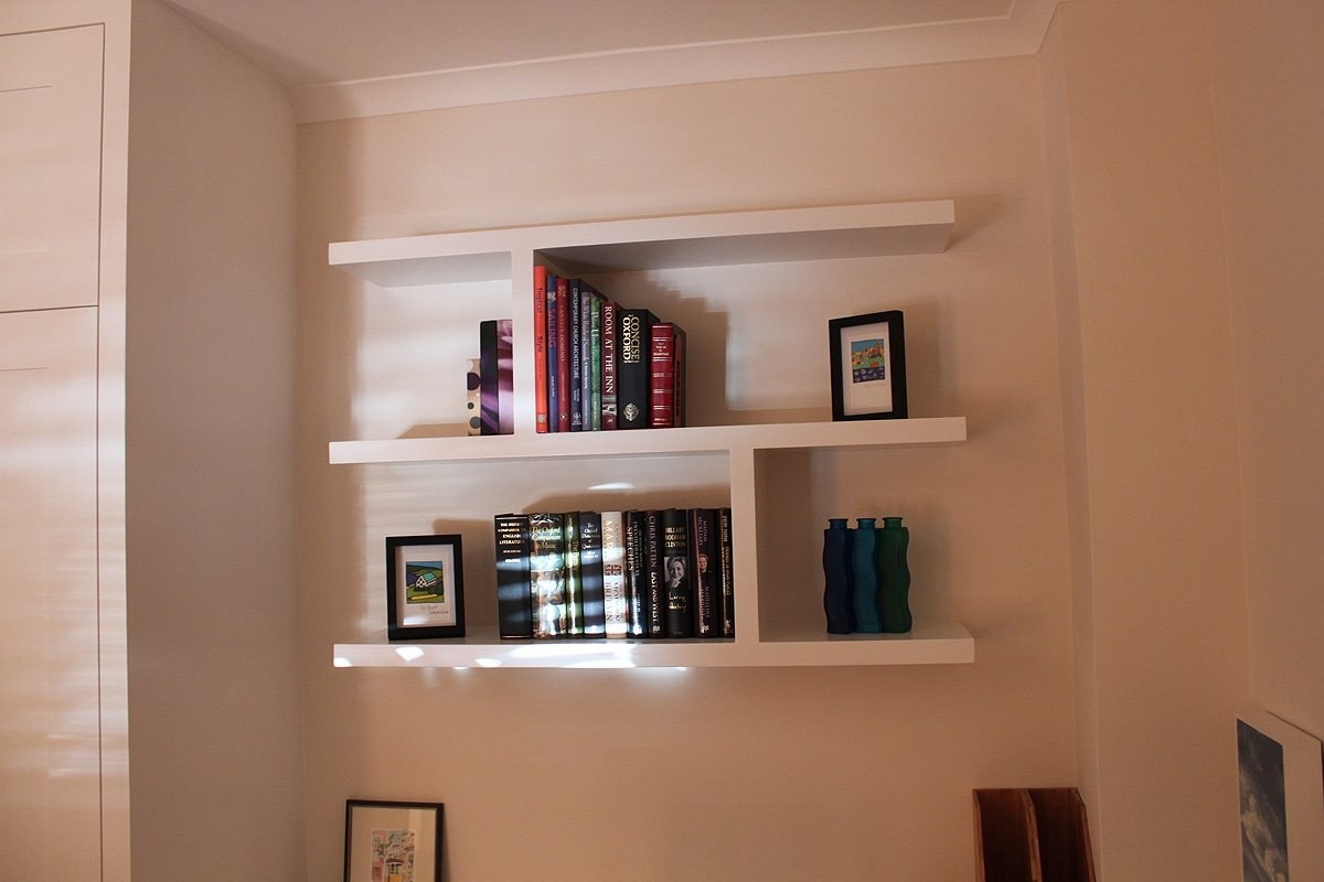 Floating Shelves Display Wooden Laminate Flooring Idea Full Wall In Well Known Full Wall Shelving Units (View 5 of 15)
