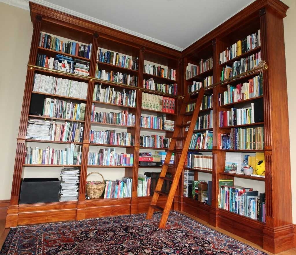 Floor To Ceiling Bookcase Plans – Rpisite Throughout Popular Floor To Ceiling Bookcases (View 3 of 15)