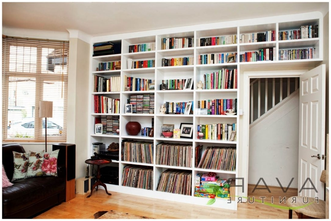 Featured Photo of Floor To Ceiling Bookcases