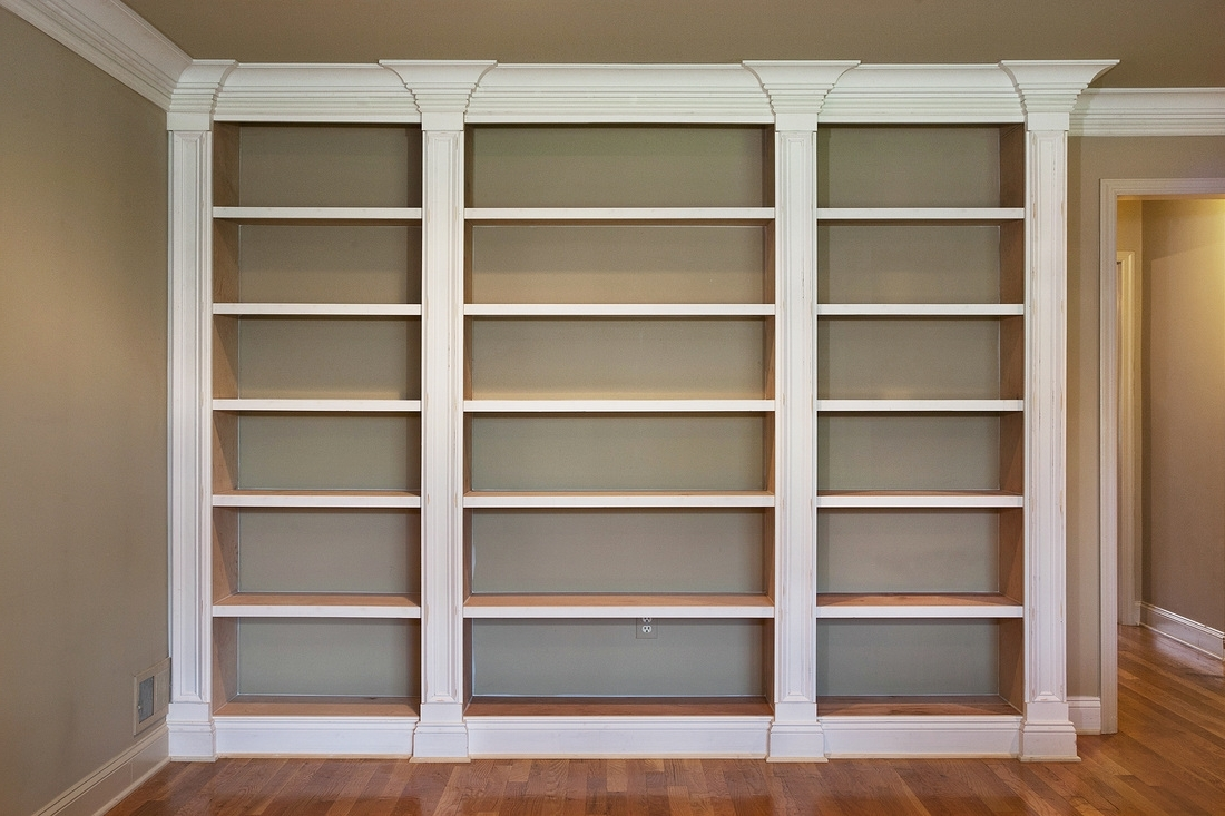 Floor To Ceiling Bookcases In 2017 Bookcases – Kevin Lein Carpentry (View 6 of 15)