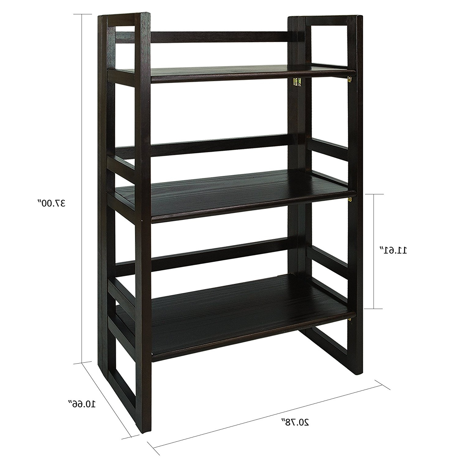 Foldable Bookcases For Most Recent Top 13 Folding Bookcases And Bookshelves Of 2017 For Your Home (View 6 of 15)