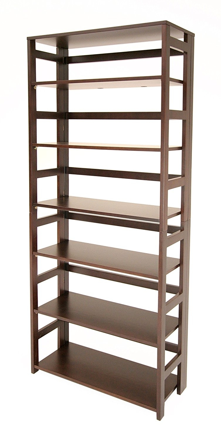 Foldable Bookcases With Regard To Well Liked Top 13 Folding Bookcases And Bookshelves Of 2017 For Your Home (View 9 of 15)
