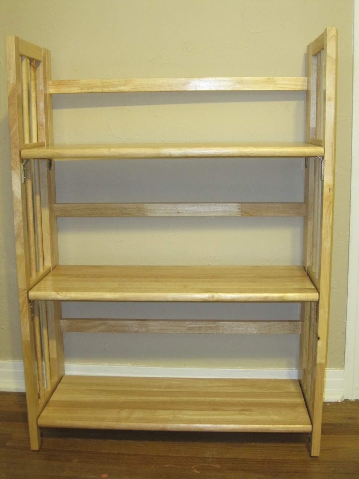 Foldable Bookcases Within Newest Wooden Folding Bookcase : Doherty House – Practical Folding (View 10 of 15)