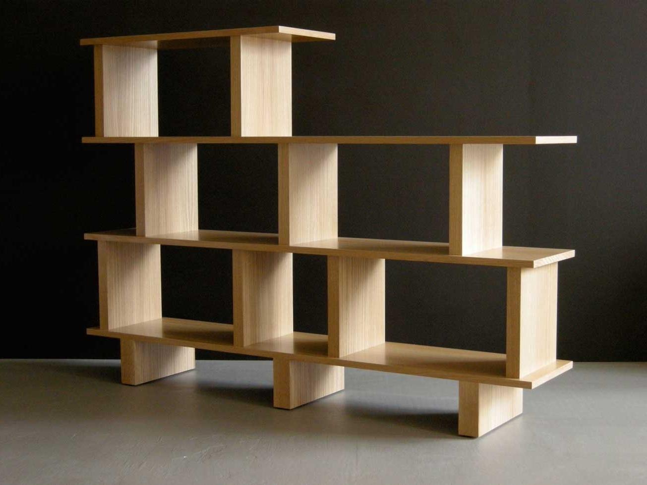Free Standing Book Shelf Pertaining To Preferred Baffling Design Home Bookshelf Ideas. Decorating (View 11 of 15)
