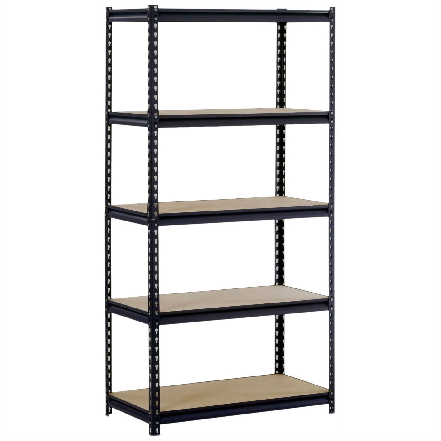 Free Standing Shelving Units Wood Intended For Popular Shelves (View 4 of 15)
