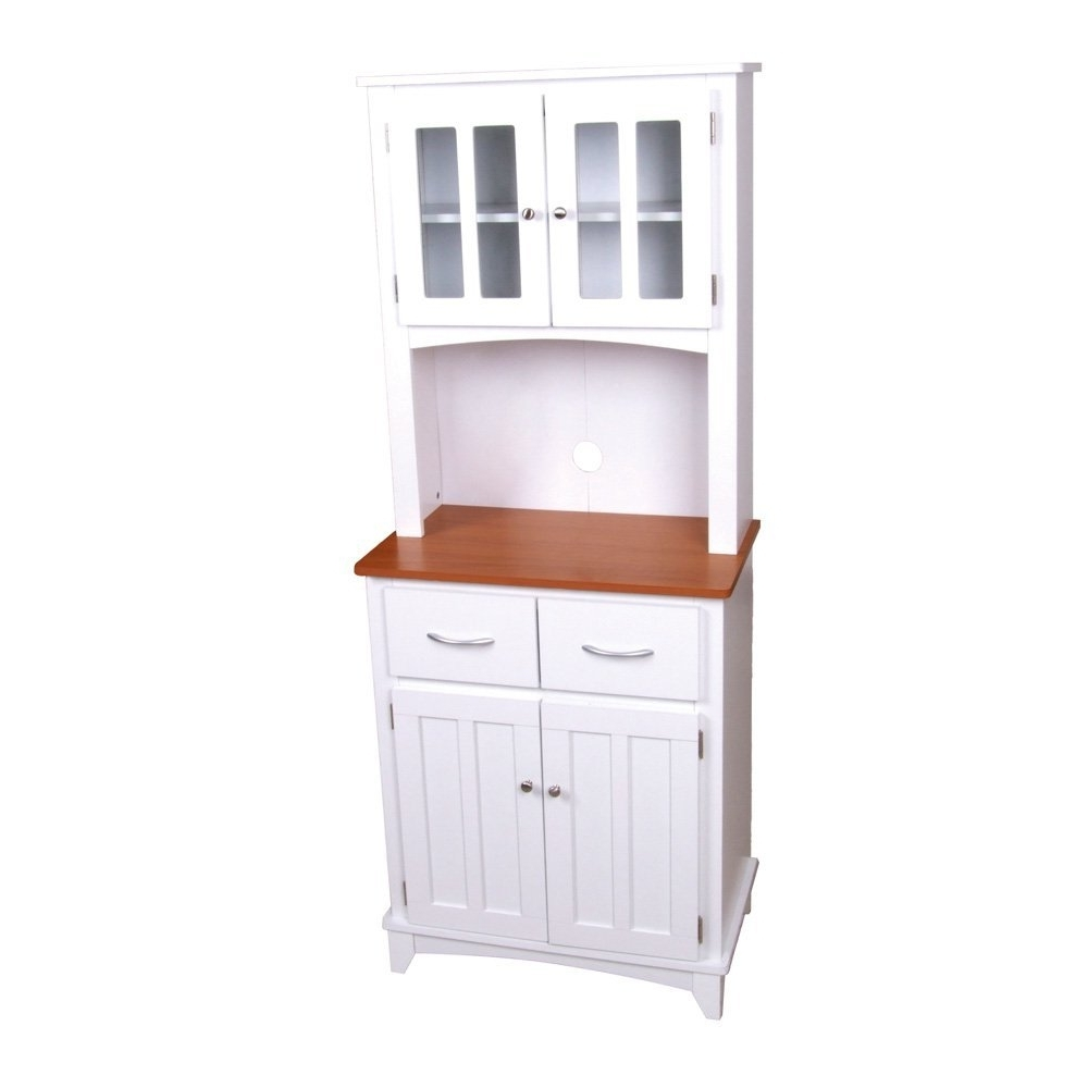 Free Standing Storage Cupboards With 2017 Kitchen : Tall Cabinet With Doors Stand Alone Pantry Food Storage (View 6 of 15)