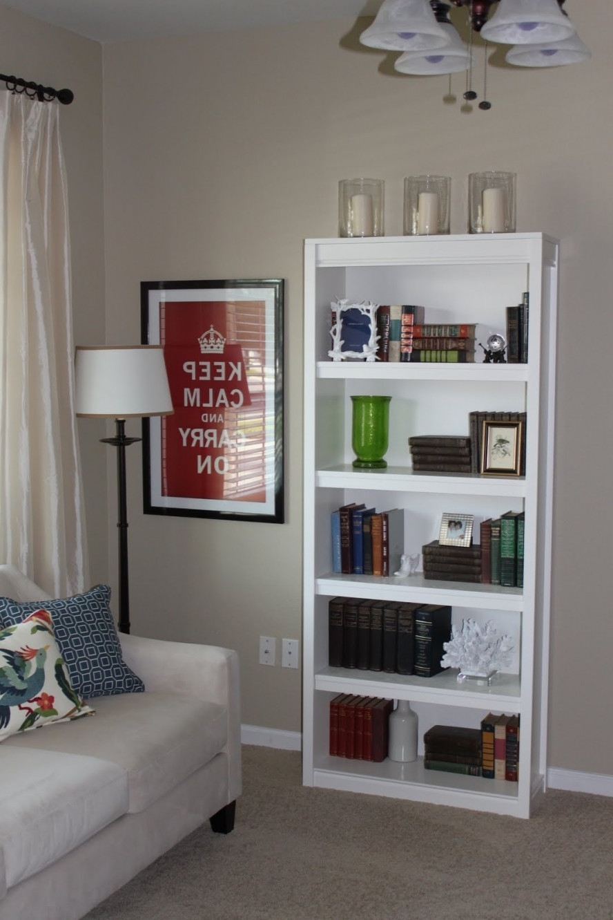 Freestanding Bookcases Wall Regarding Preferred Furniture : Minimalist Bookshelf Furniture Design Alongside (View 6 of 15)