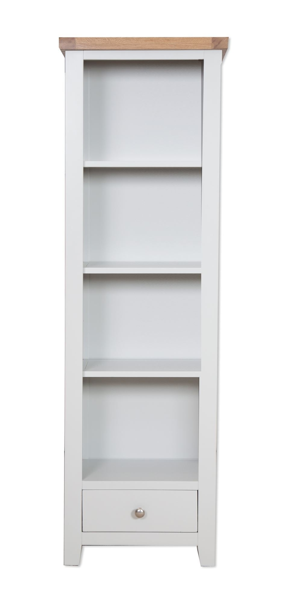 French Grey Slim Bookcase – Cambridge Home & Garden For 2017 Slim Bookcases (View 6 of 15)