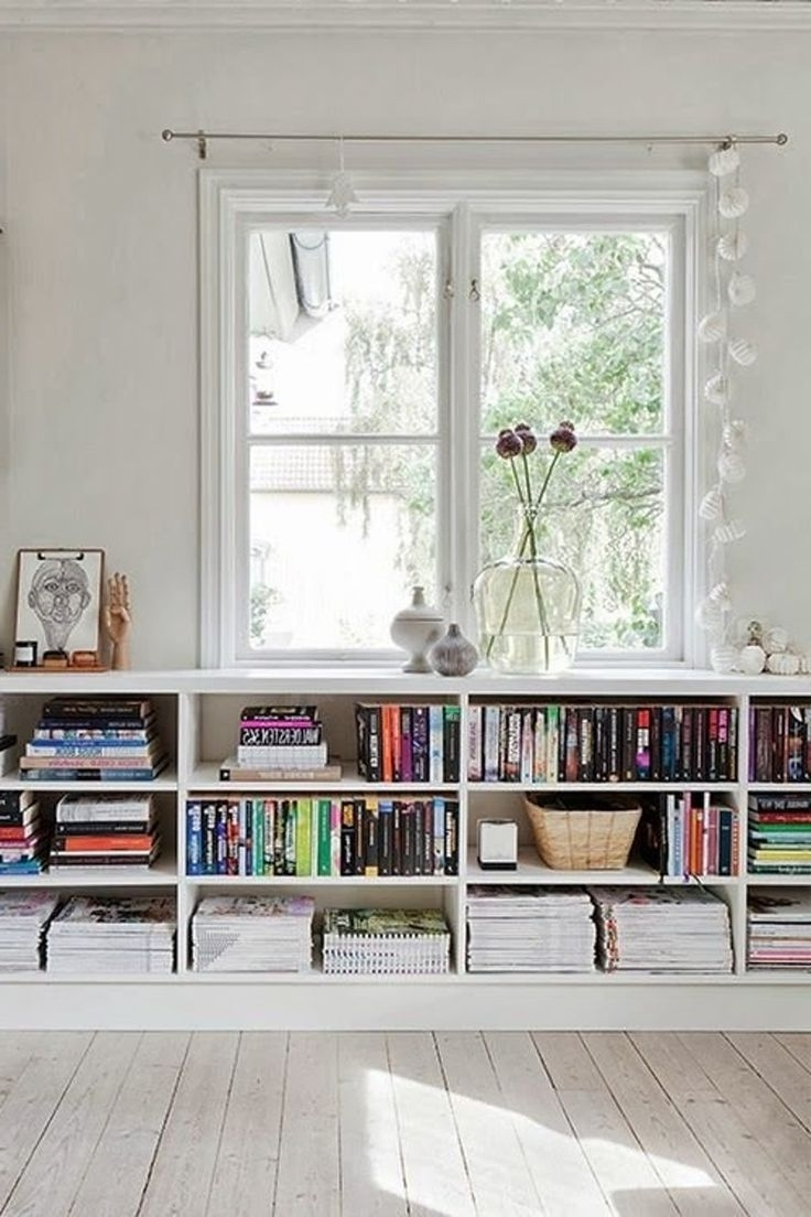 Fresh Target Horizontal Bookcase With Additional Bassett Bookcases With Regard To Well Known Under Window Bookcases (View 2 of 15)