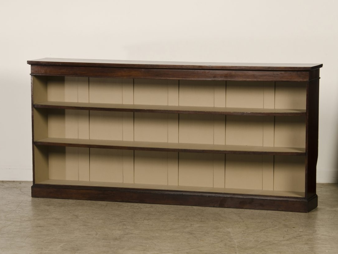 Featured Photo of Long Horizontal Bookcases