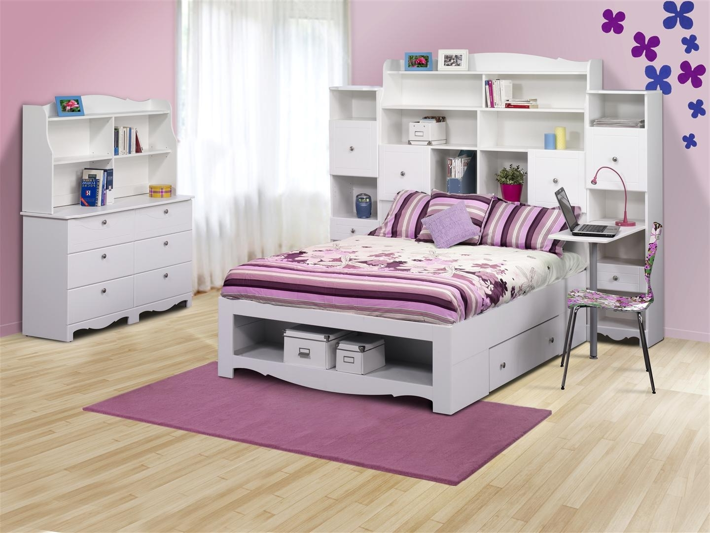 Full Size Storage Bed With Bookcases Headboard In Popular Nice Full Size Storage Bed With Bookcase Headboard – Home (View 7 of 15)