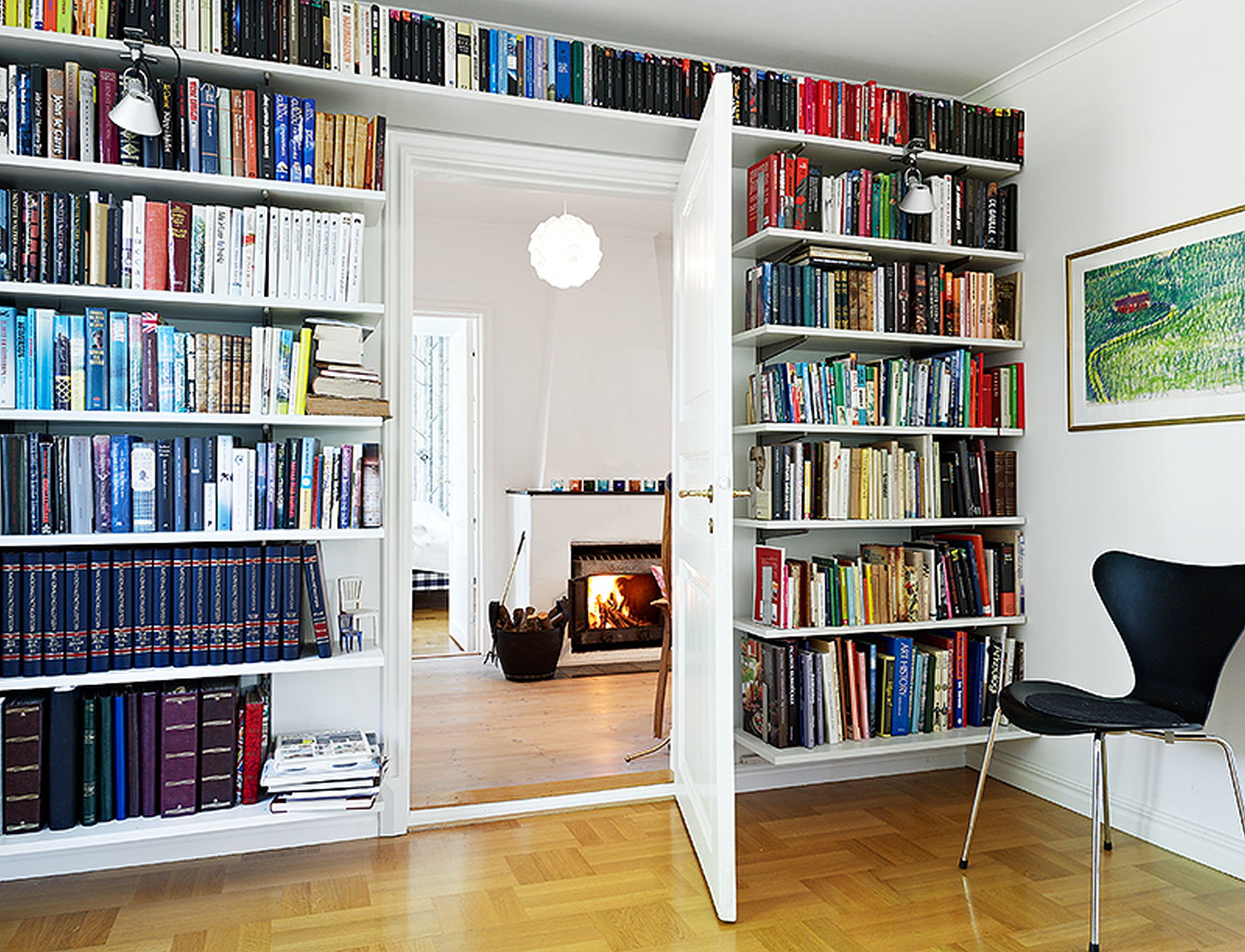 Full Wall Bookcases Intended For 2017 Full Wall Shelf Designs (View 3 of 15)