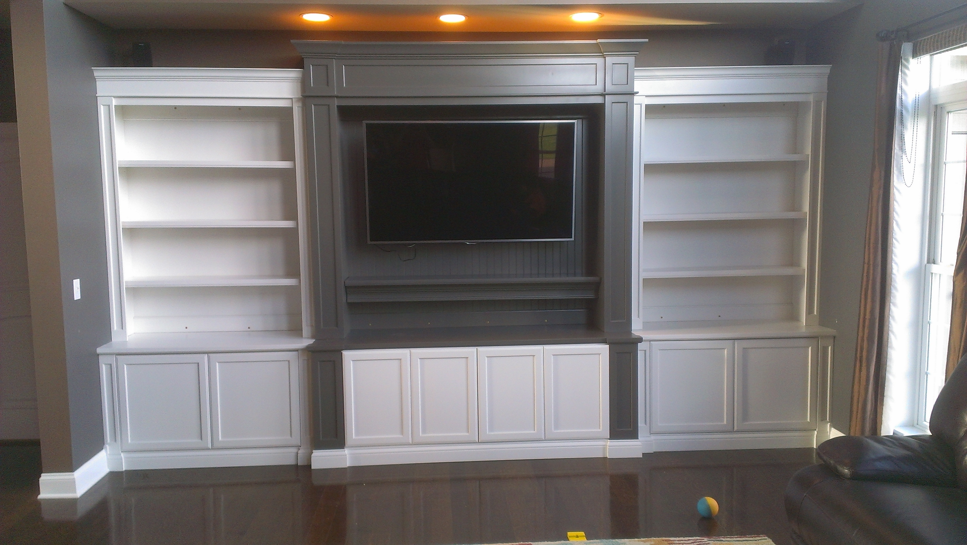 Full Wall Bookcases With Fashionable Bookcases :c A Custom Woodworking Inc (View 8 of 15)