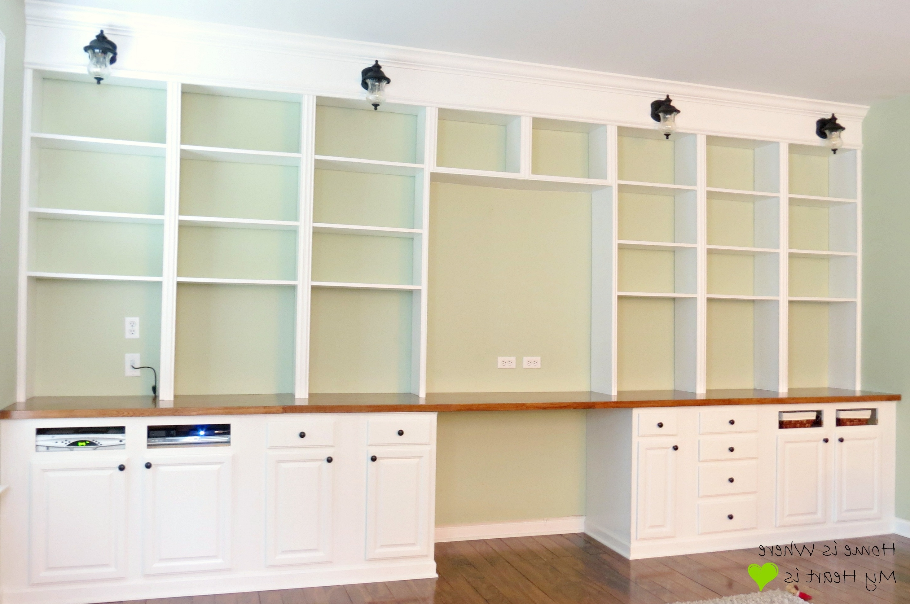 Full Wall Bookcases Within Latest Modern Wall Bookshelves With Intricate And Unexpected Design (View 7 of 15)