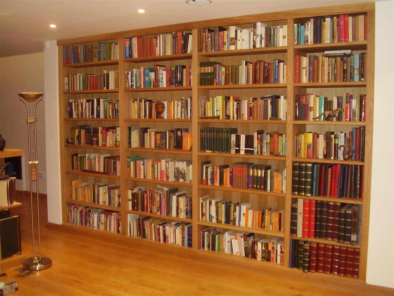 Full Wall Bookshelves In Most Up To Date Wall Units: Inspiring Wall To Wall Bookshelves Diy Wall To Wall (View 14 of 15)