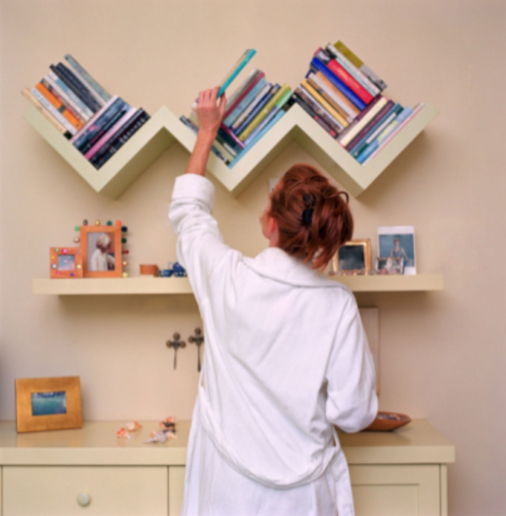Fulton Homes With Zig Zag Bookcases (View 5 of 15)
