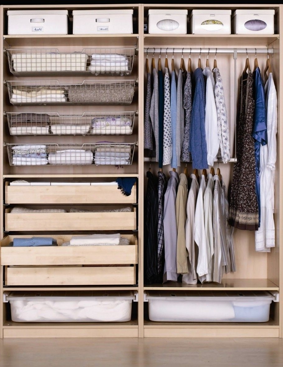 Furniture, Appealing Wooden Closet Design (View 7 of 15)