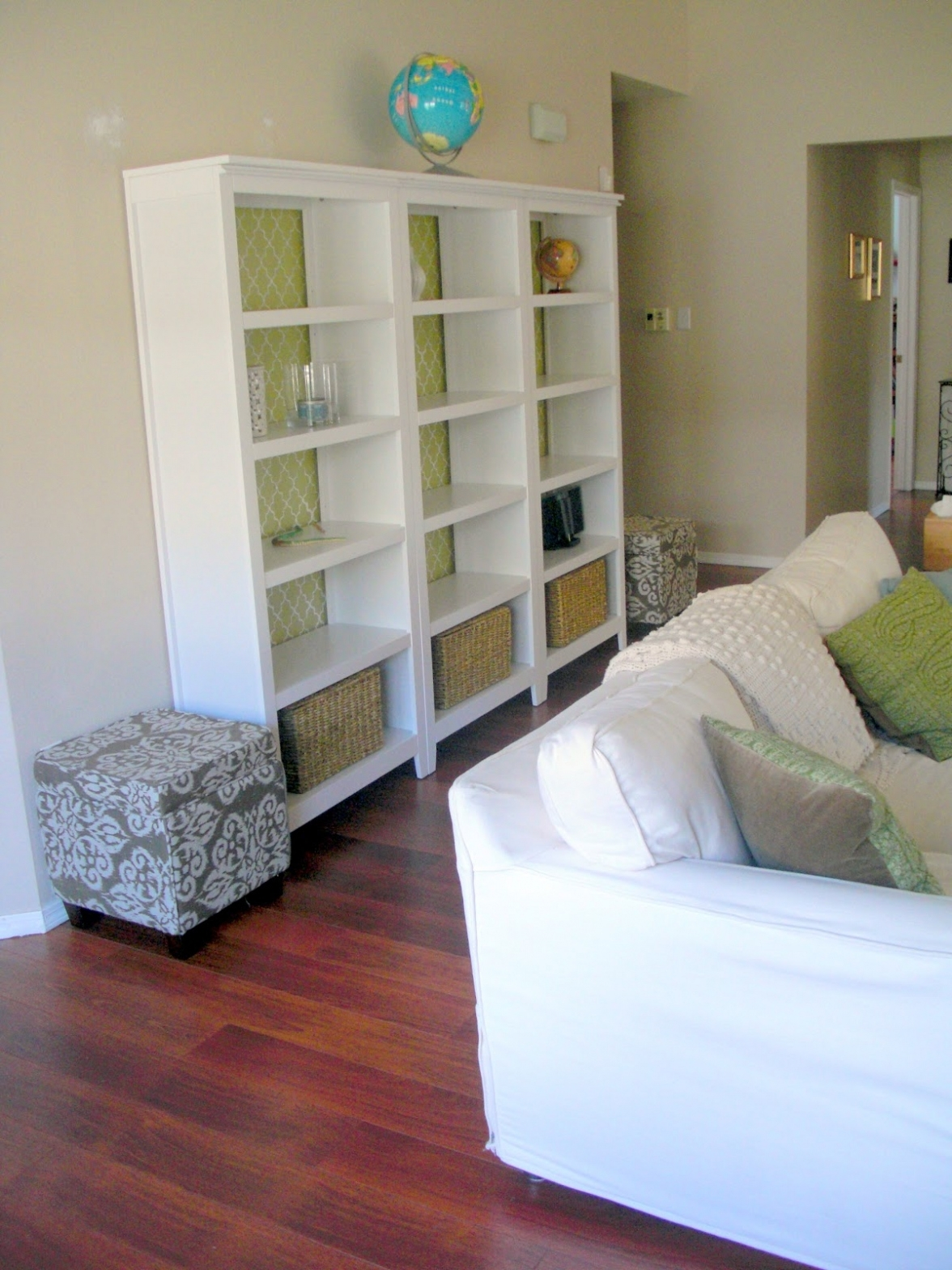 Furniture ~ Bookshelf: Astounding Bookcase With Doors White White With Well Known Target White Bookcases (View 6 of 15)