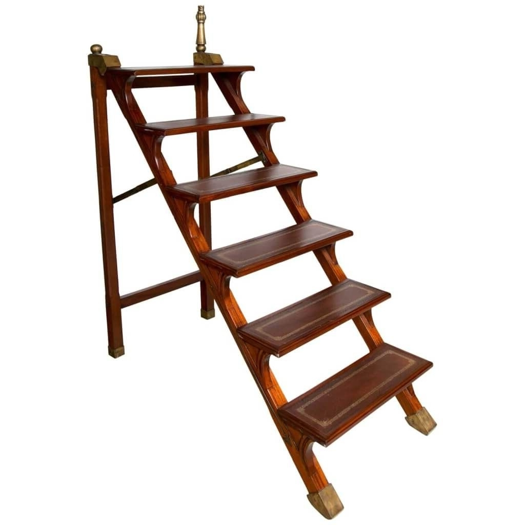 Furniture: Cheap Tall Rolling Library Ladder Kit For Home Library Within Preferred Library Ladder Kit (View 13 of 15)