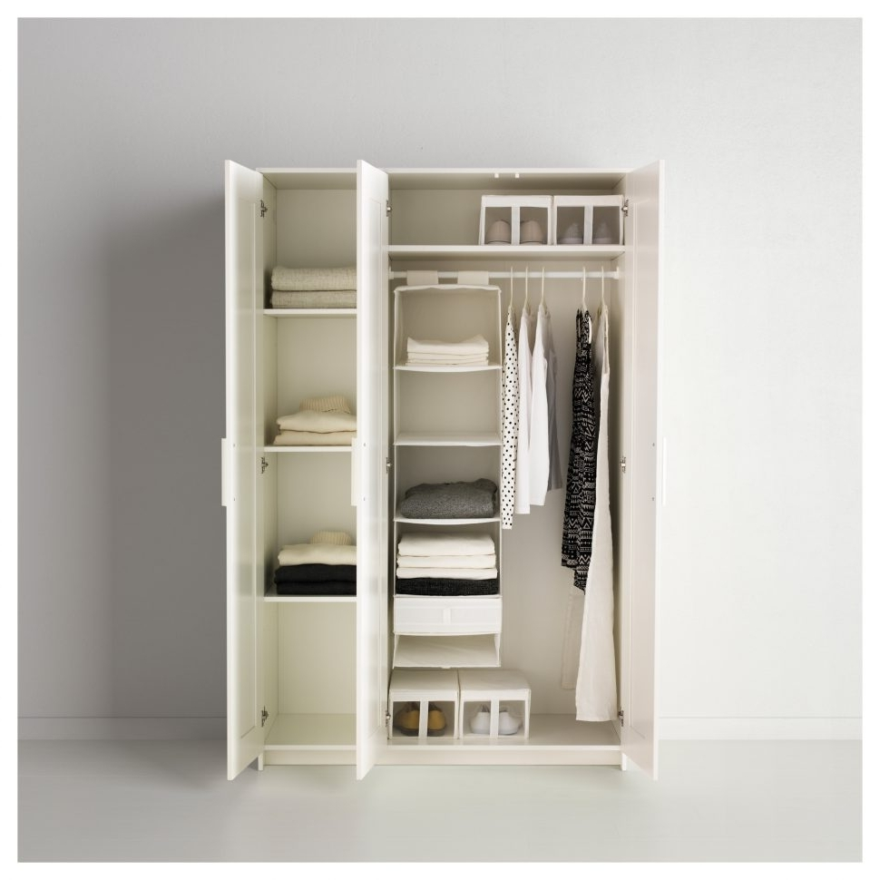Furniture : Coat Closet Ikea Wardrobe Closet Closet For Clothes In 2017 Wardrobe With Drawers And Shelves (View 5 of 15)