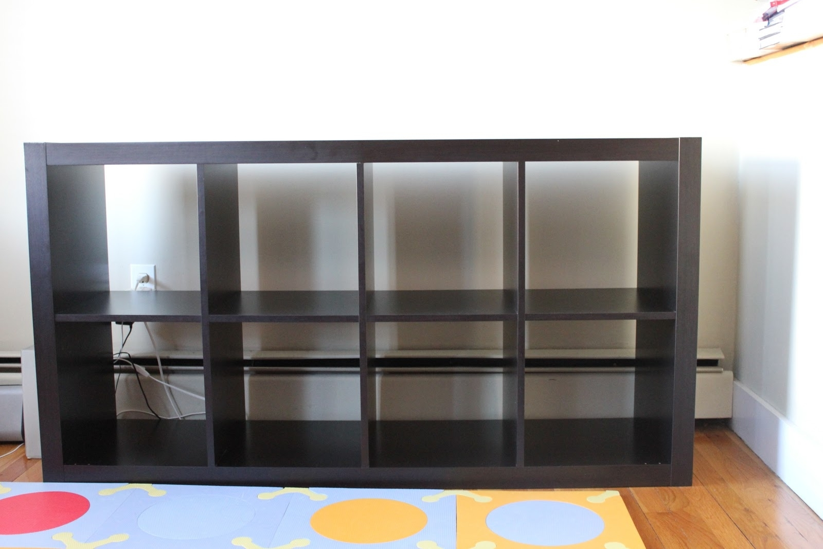 Furniture: Espresso Ikea Expedit Bookcase Design Idea Perfect For Inside Most Current Ikea Expedit Bookcases (View 15 of 15)