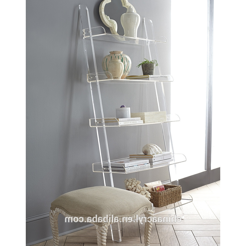 Furniture Home: Block Tower Acrylic Bookcase The Land Of Nod Pertaining To Trendy Acrylic Bookcases (View 10 of 15)