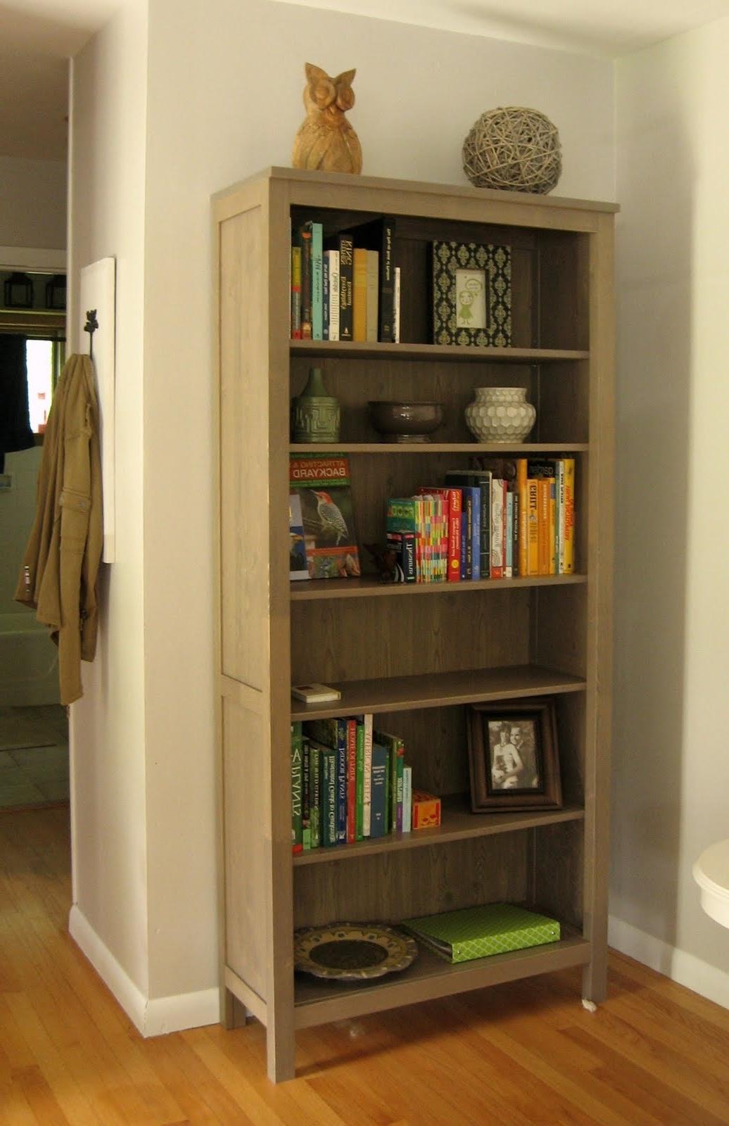 Furniture Home: Bookshelf Marvellous Ikea Hemnes Bookcase With Most Popular Ikea Hemnes Bookcases (View 4 of 15)