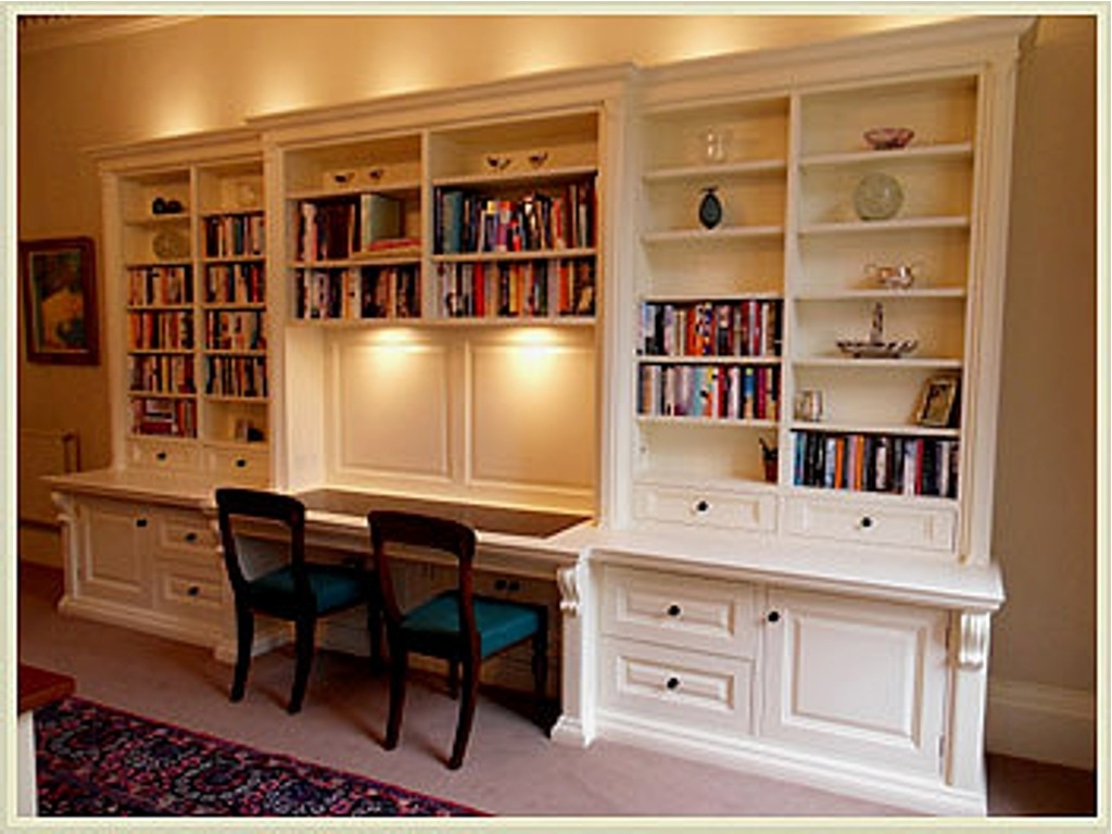 Furniture Home: Furniture Home Best Bookcases And Built In Desks With Well Liked Desk With Bookcases (View 8 of 15)