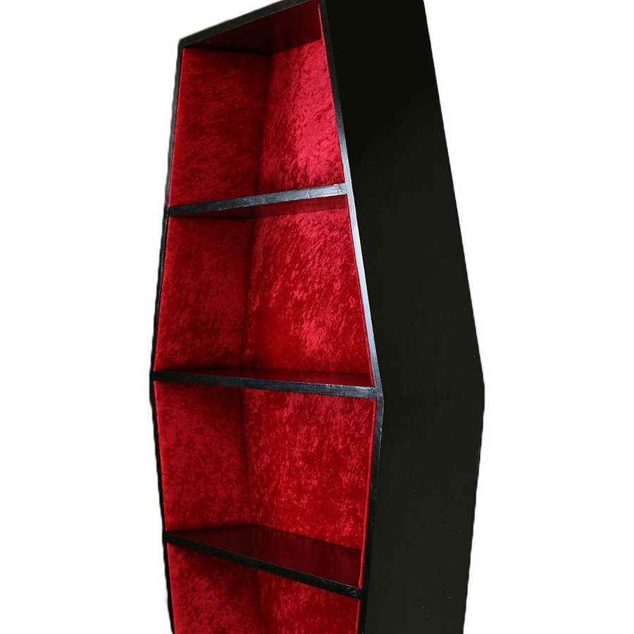 Furniture Home: Furniture Home Coffin Bookcase Stupendous Pictures With Regard To 2018 Coffin Bookcases (View 11 of 15)