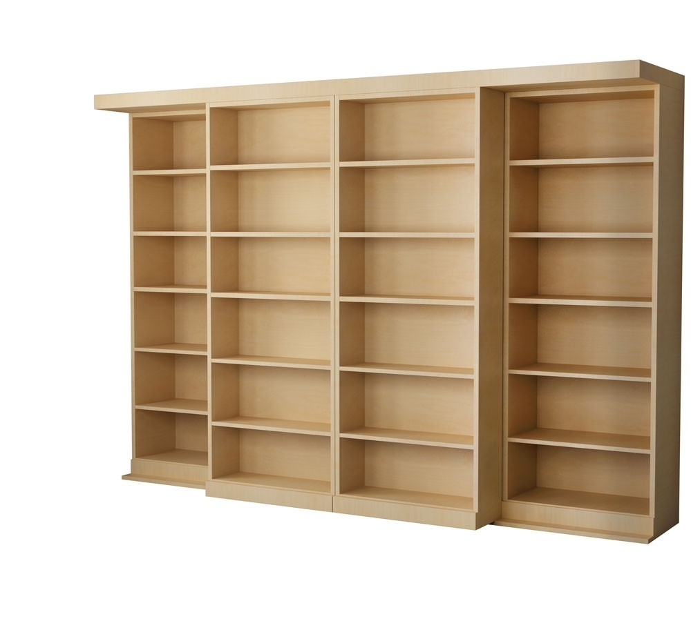 Furniture Home: Furniture Home Custom Bookcases Charles R Bailey Regarding Well Known Maple Bookcases (View 6 of 15)